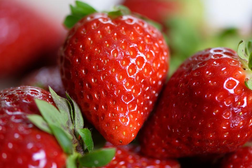 červená jahoda
