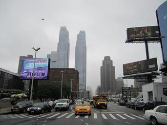 Billboard ve městě