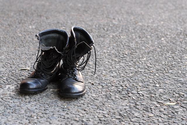 armádní boty