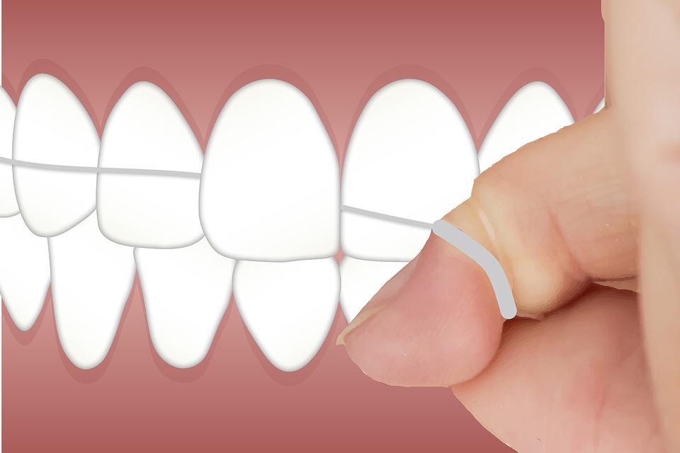 používání zubní nitit