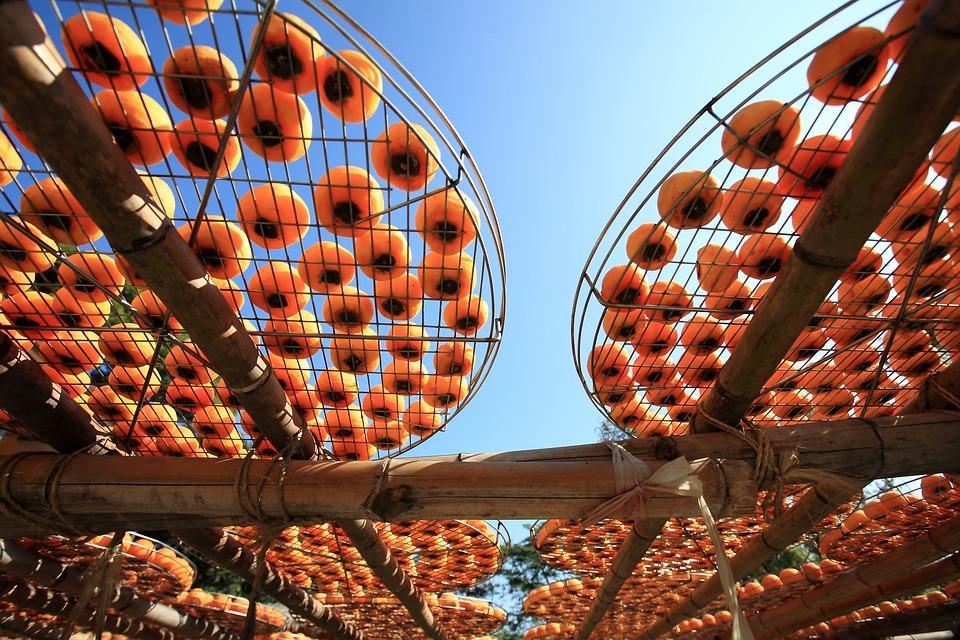sušené mandarinek